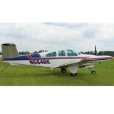 Beechcraft Bonanza P35 V-Tail Airplane Design