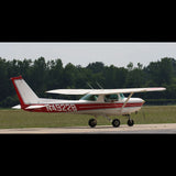 Cessna 152 (Red #4) Airplane Design