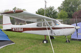 Cessna 172 Skyhawk (Brown/Gold) Airplane Design