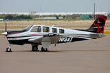 Beechcraft Bonanza G36 Black model