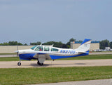 Beechcraft Bonanza F33A Blue model
