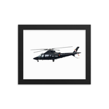 "Custom Airplane 8x10"" Framed Poster"