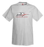AgustaWestland AW189 Helicopter T-Shirt - Personalized with Your N#
