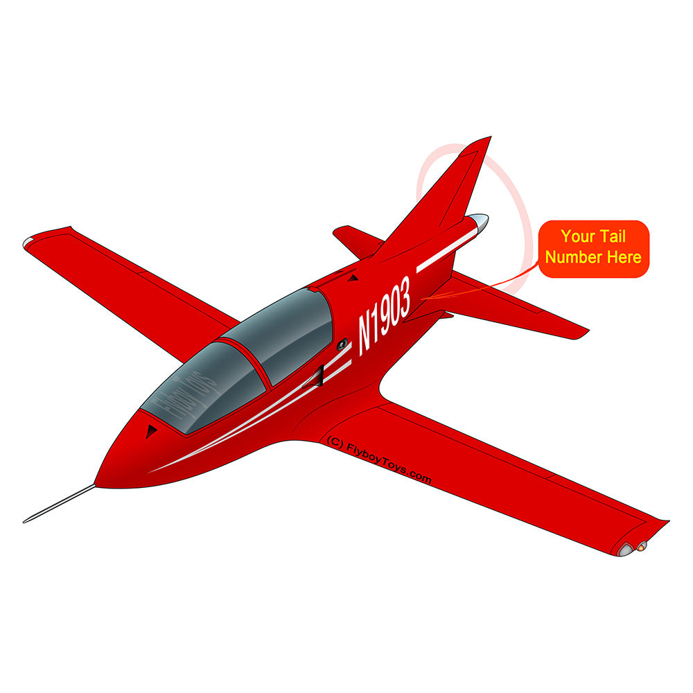 Airplane Design (Red) - AIR254BD5-R1