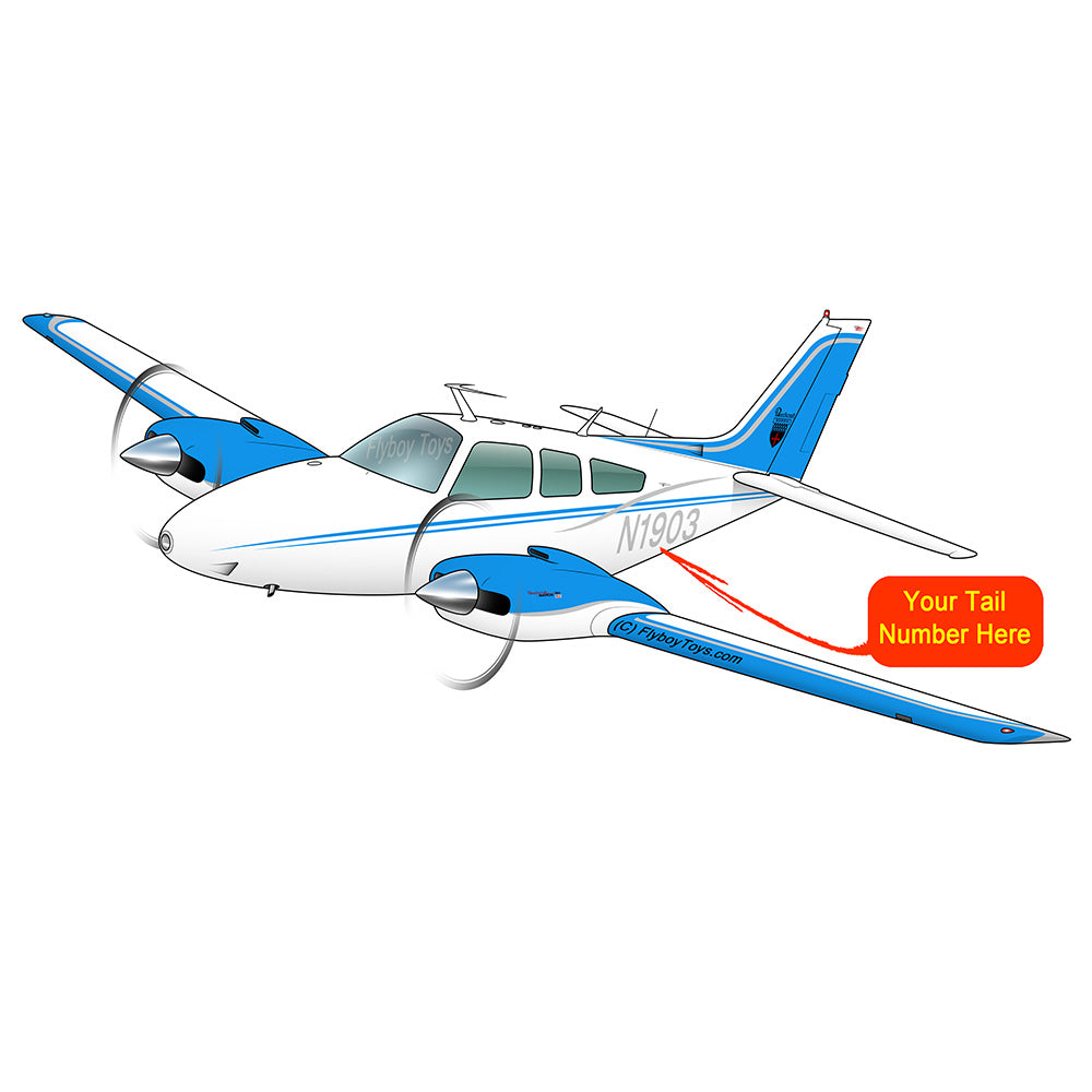 Beechcraft Baron Blue 4