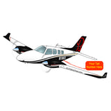 Beechcraft Baron Beech 58 Black Gold Red
