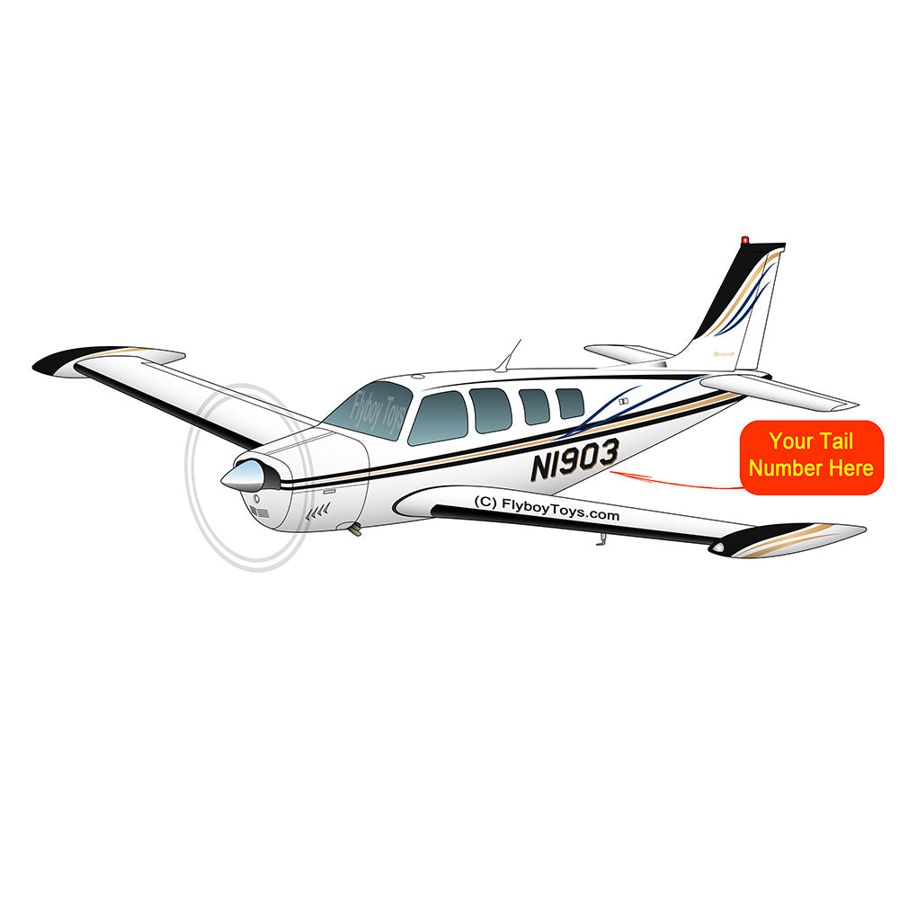 Beechcraft Bonanza A36 Black