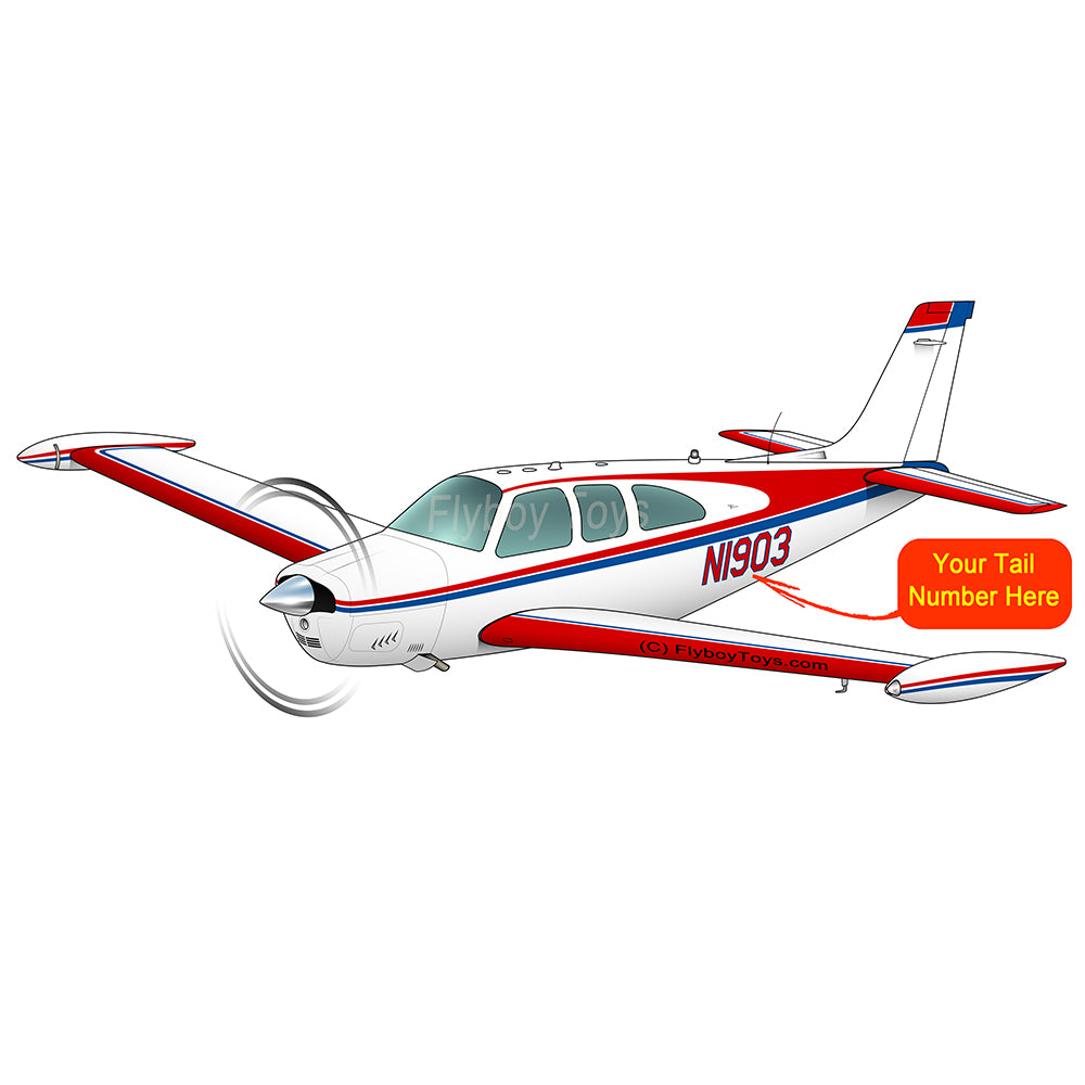 Airplane (Blue/Red) - AIR2552FEF33A-BR1 – Flyboy Toys