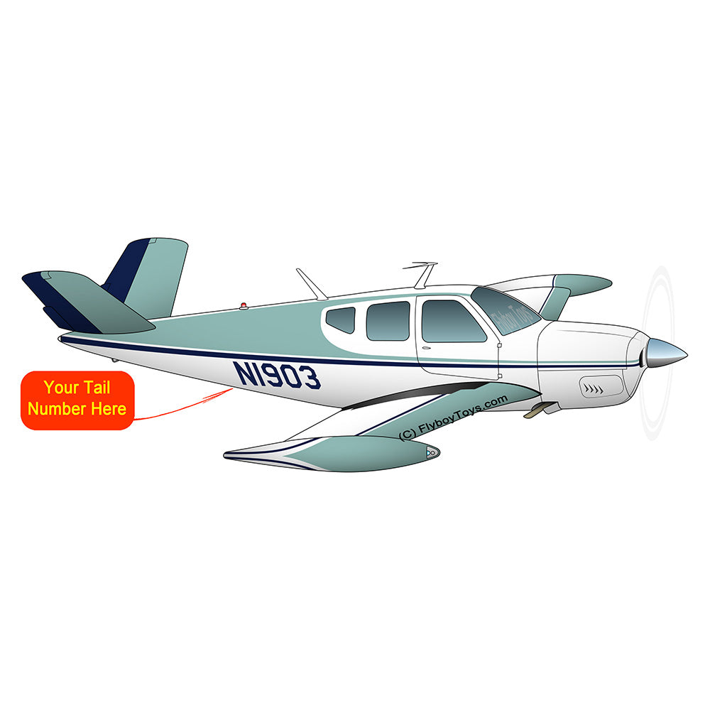 Airplane Design (Teal) - AIR2552FEF35-T1