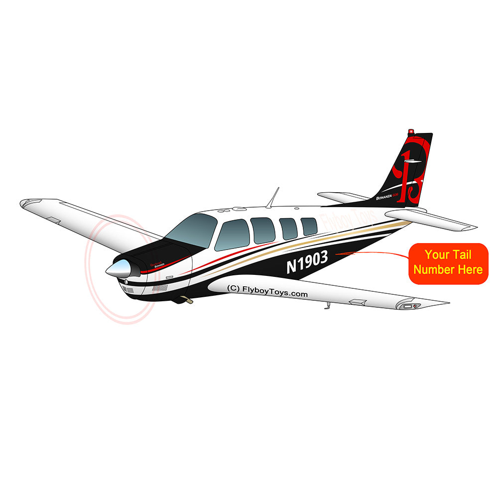 Beechcraft Bonanza G36 Black