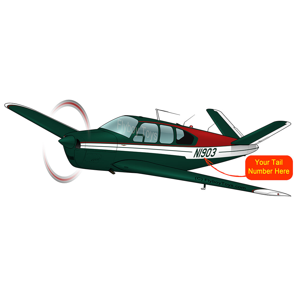 Airplane Design (Red/Green) - AIR2552FEK35-RG1