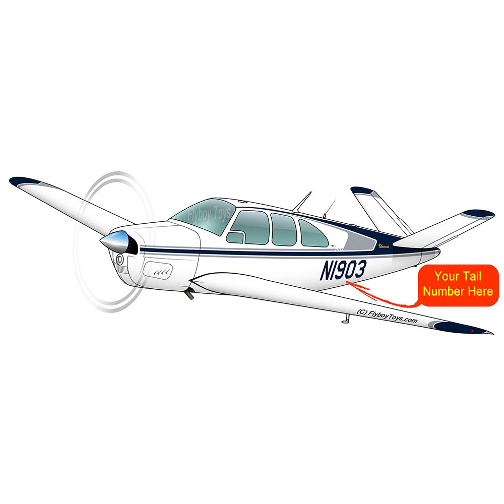 Airplane Design (Blue/Silver) - AIR2552FEP35-BS1