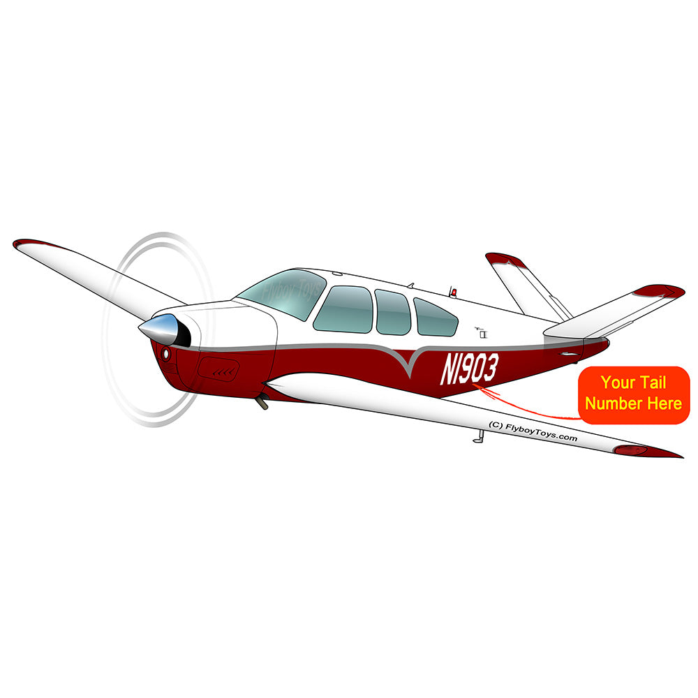 Airplane Design (Red/Silver) - AIR2552FES35-RS1