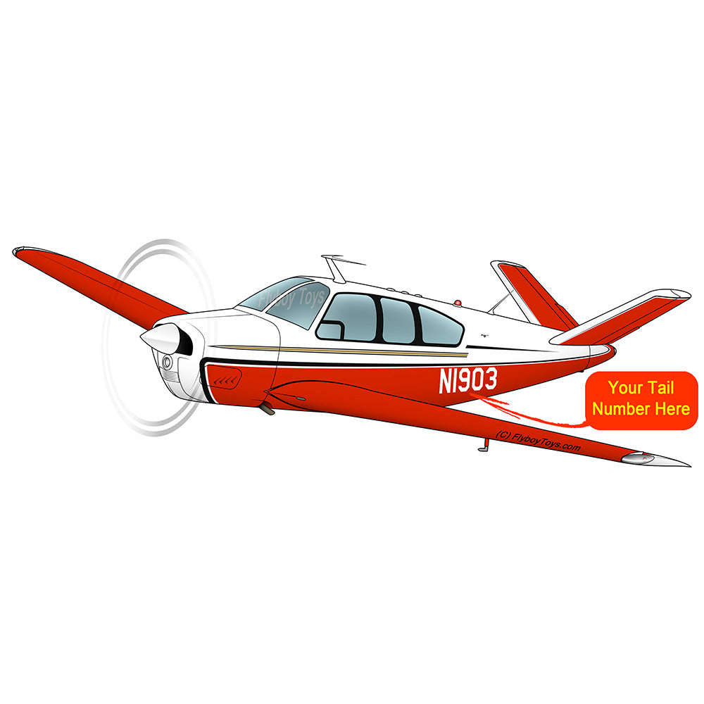Airplane Design (Red/Tan) - AIR2552FES35-RT1