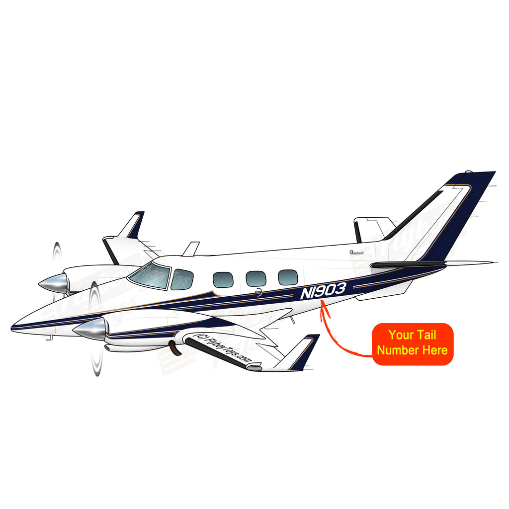 Beechcraft B60 Duke Blue