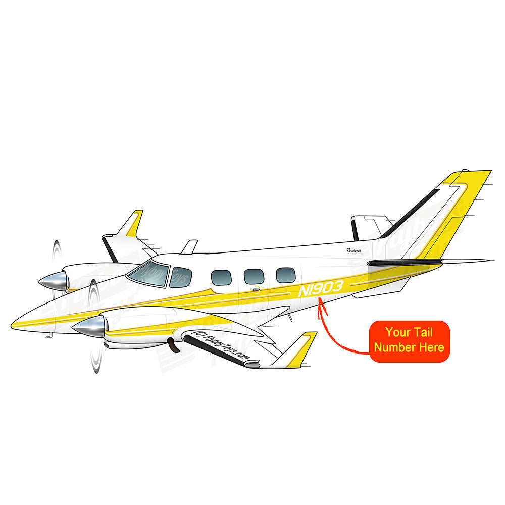Airplane Design (Yellow) - AIR2554LB-Y1