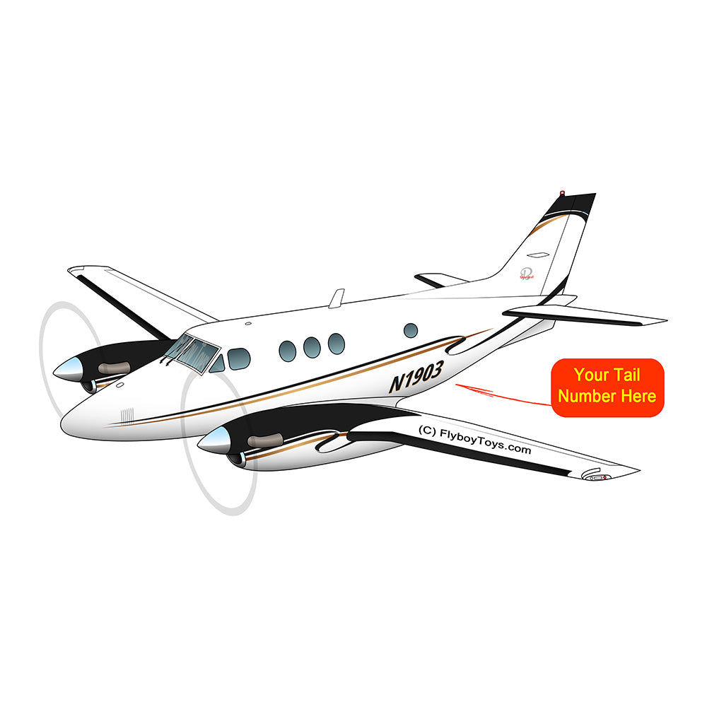 Beechcraft King Air 90 Black Gold