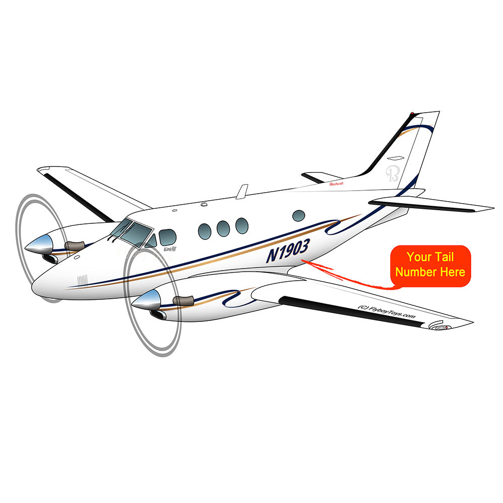 Beechcraft King Air 90 Blue Gold
