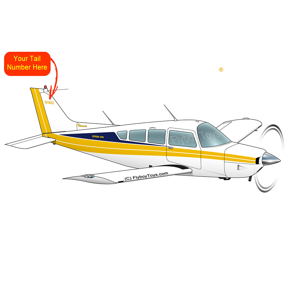 Airplane Design (Yellow/Blue #2) - AIR255J95-YB2