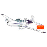 Airplane Design (Purple) - AIR255KI1-P1