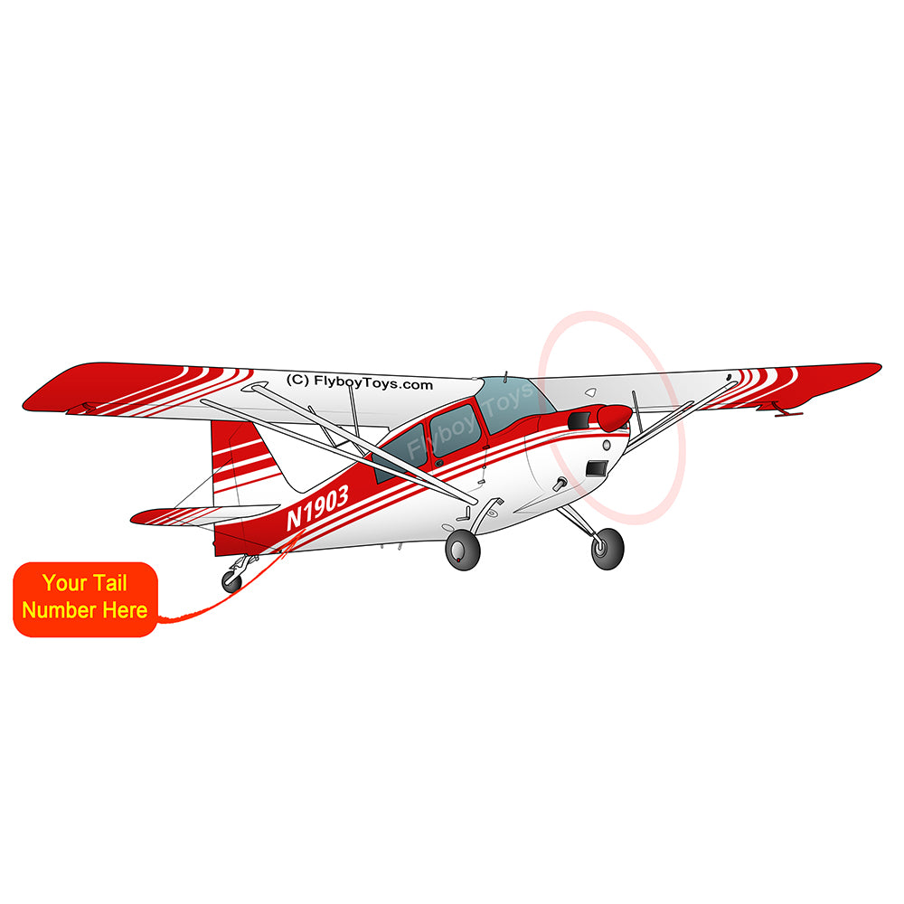 Airplane Design (Red) - AIR25C39K7KC