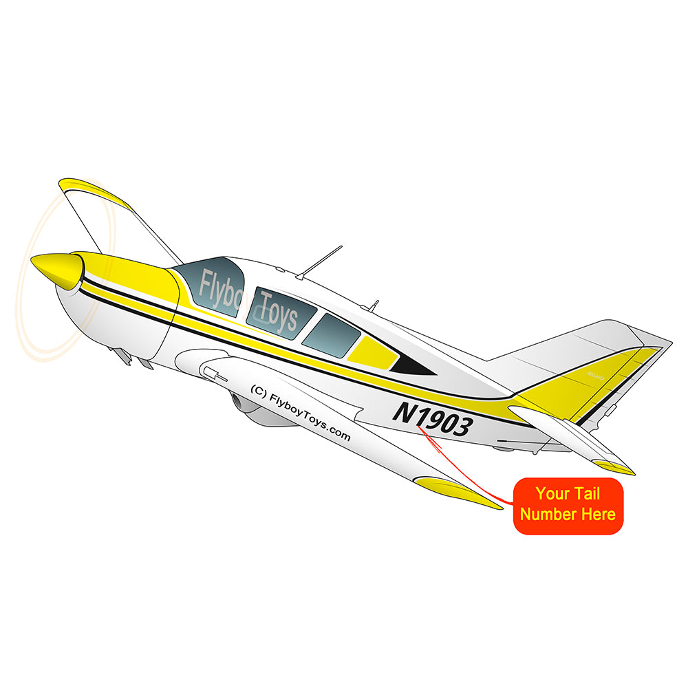 Airplane Design (Yellow) - AIR25CJLGM9B-Y1