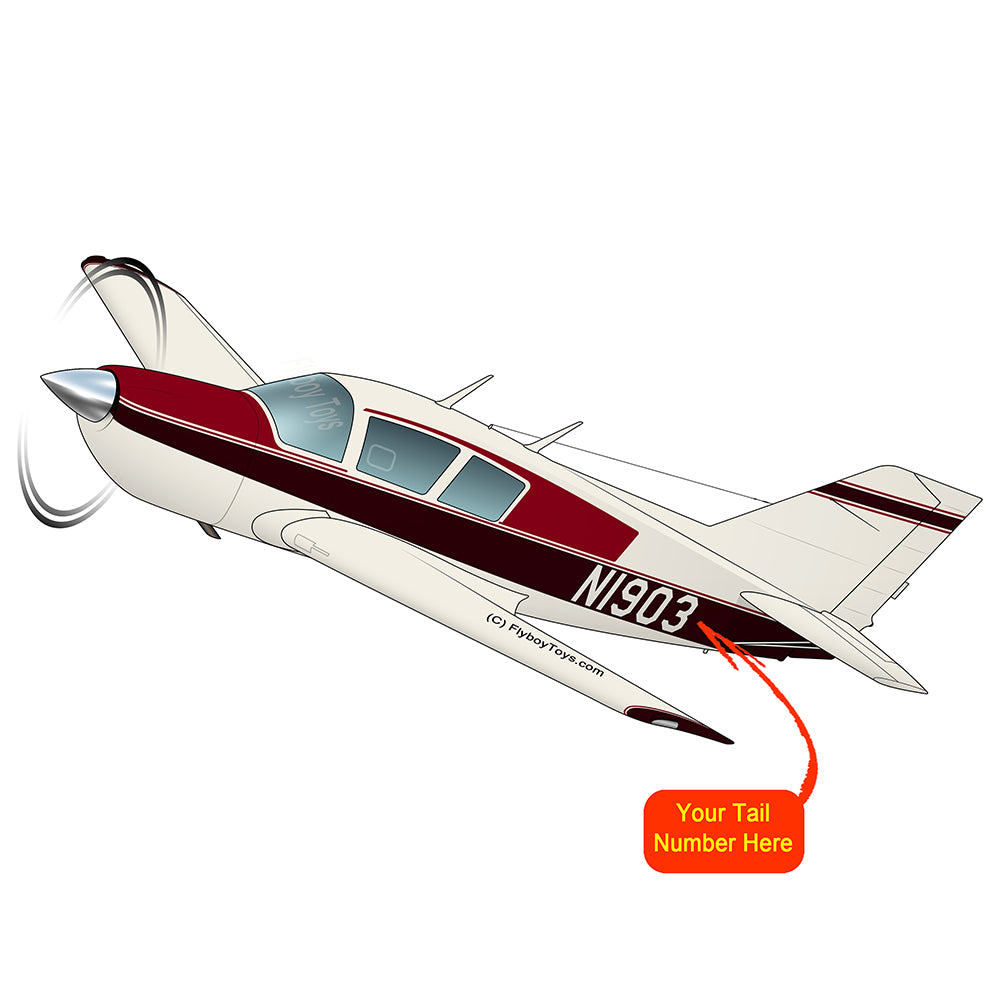 Airplane Design (Red/Burgundy) - AIR25CM9B173-RB2