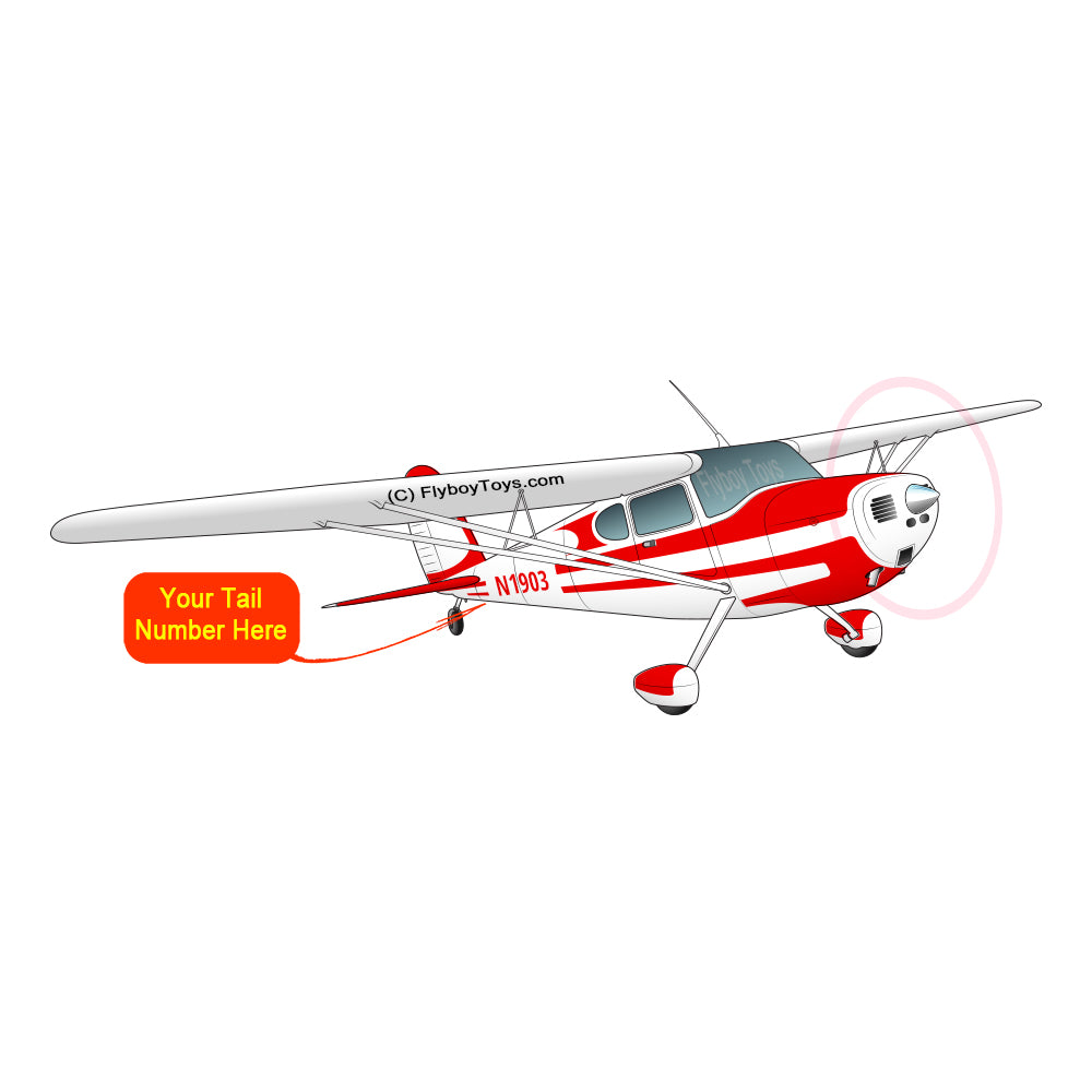 Airplane Design (Red) - AIR35JJ140-R1