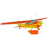 Airplane Design (Yellow/Orange) - AIR35JJ140-YO1
