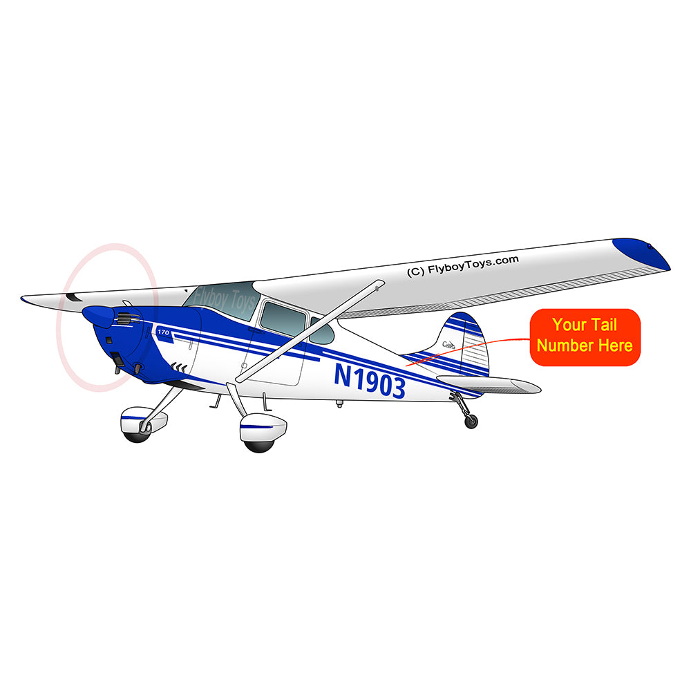 Airplane Design (Blue#2) - AIR35JJ170-B2