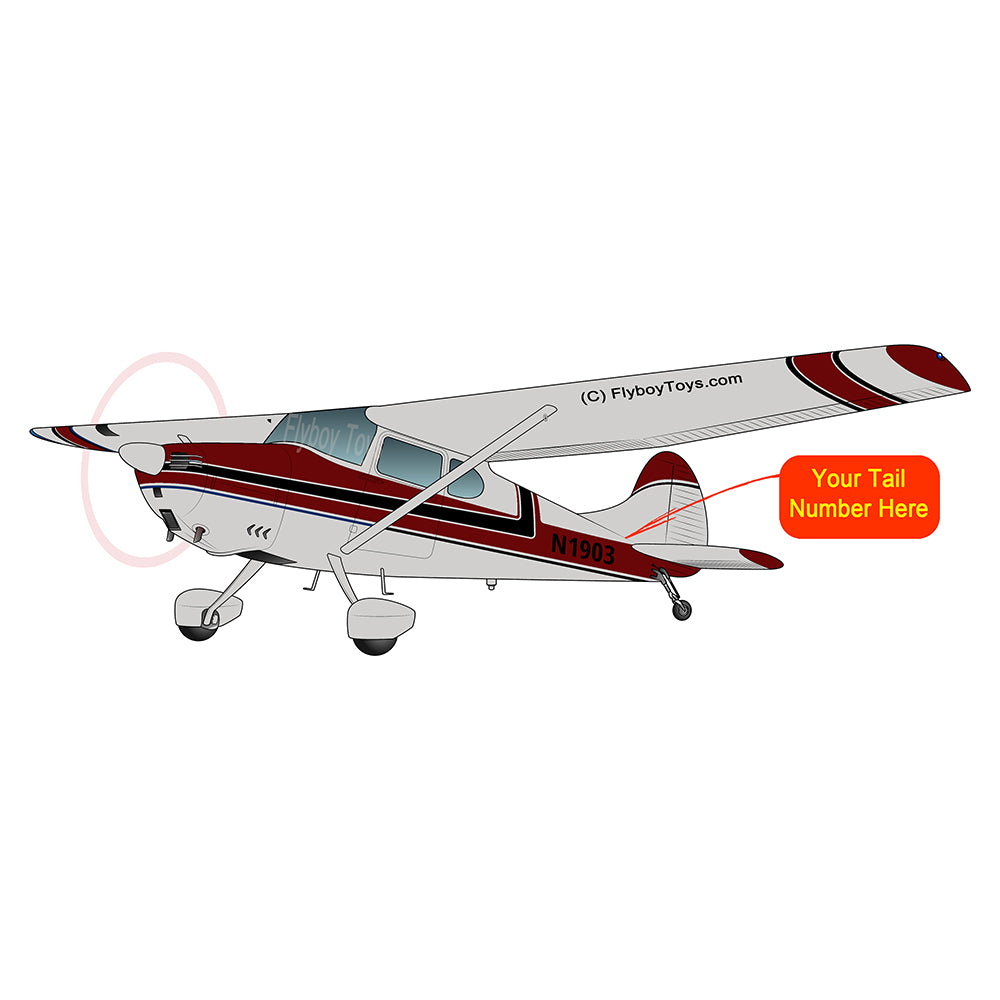 Airplane Design (Red/Black) - AIR35JJ170-RB1