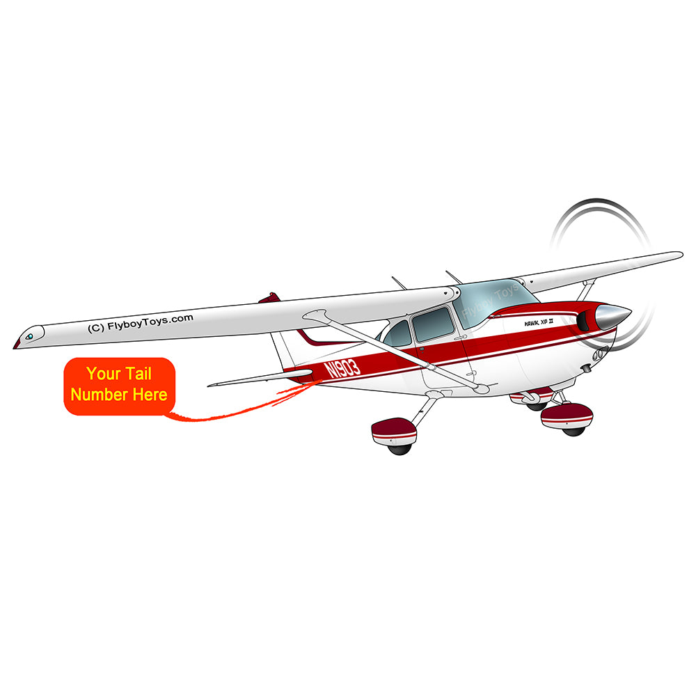 Airplane Design (Red #6) - AIR35JJ172-R6