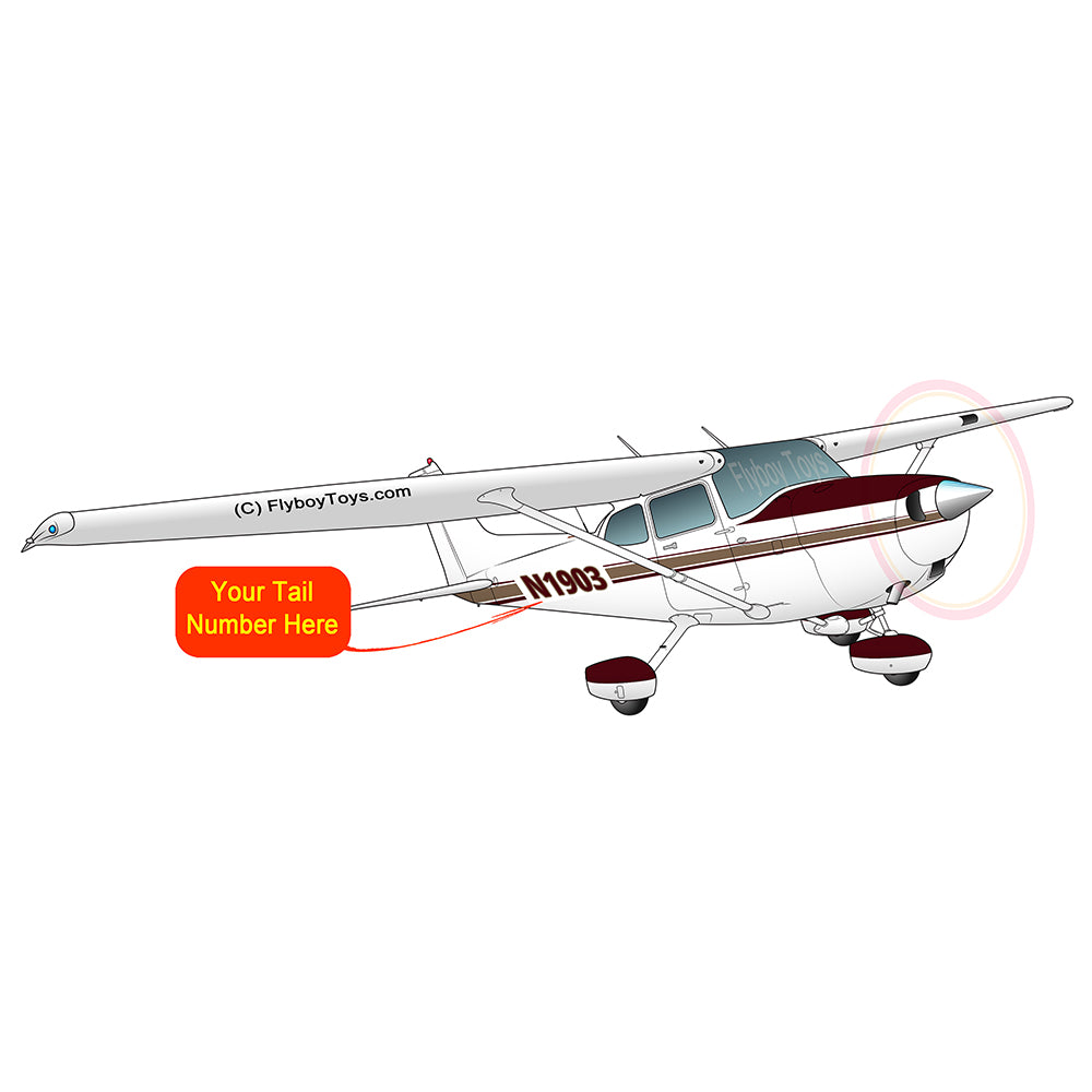 Airplane Design (Red/Gold) - AIR35JJ172-RG1