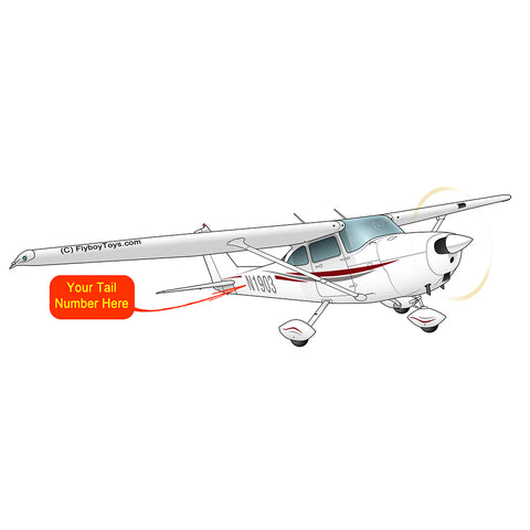 Airplane Design (Red/Silver) - AIR35JJ172-RS1