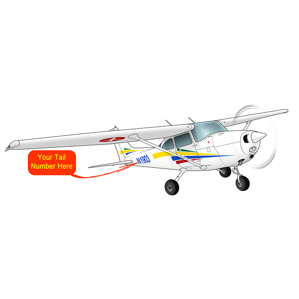 Airplane Design (Yellow/Blue/Red) - AIR35JJ172-YBR1