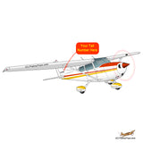 Airplane Design (Yellow/Orange) - AIR35JJ172-YO1