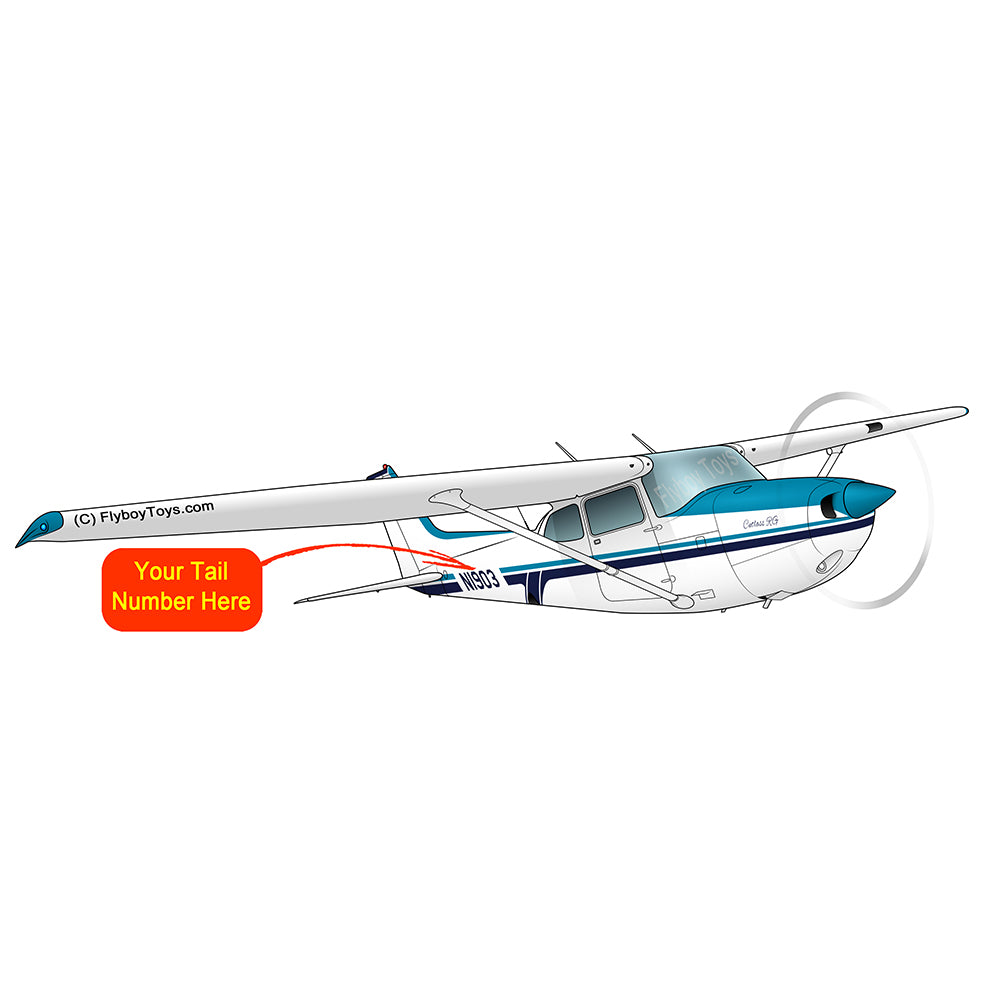 Airplane Design (Blue #2)- AIR35JJ1723LKC1JJI7-B2