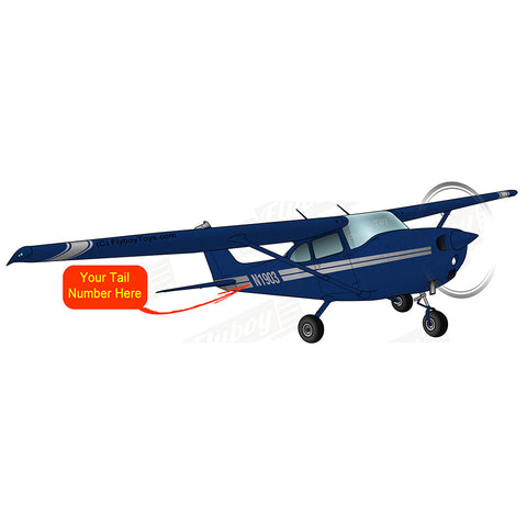 Airplane Design (Blue/Grey) - AIR35JJ172M-BG1