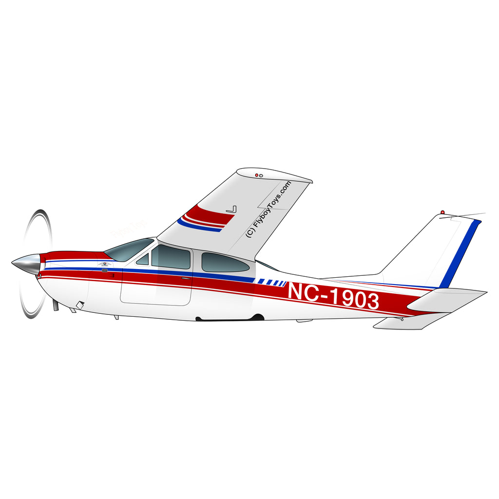 Airplane Design (Red/Blue #2) - AIR35JJ177I7-RB2