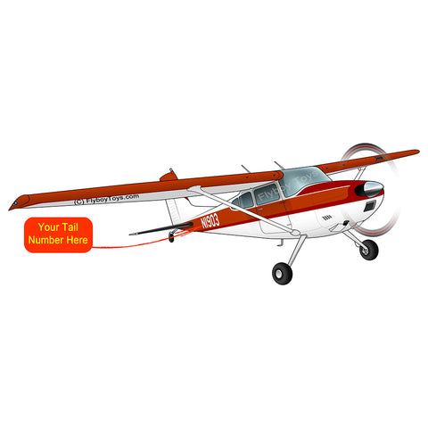 Airplane Design (Red/Orange) - AIR35JJ180-RO1