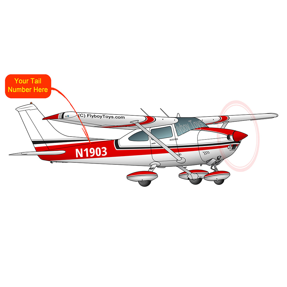 Airplane Design (Red) - AIR35JJ182-R1