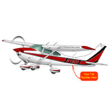 Airplane Design (Red/Black) - AIR35JJ182E-RB1