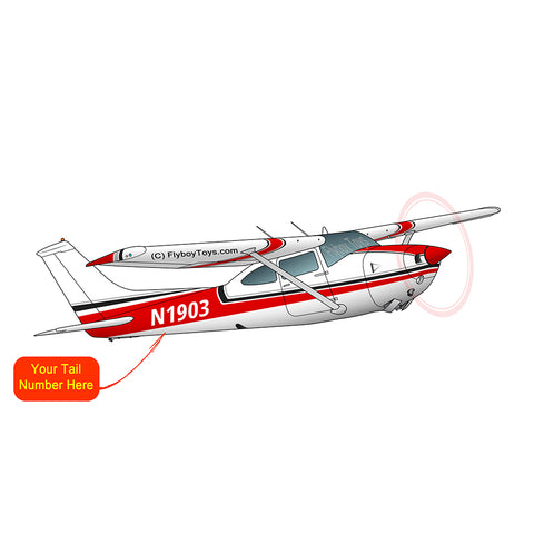 Airplane Design (Red) - AIR35JJ182I7-R1