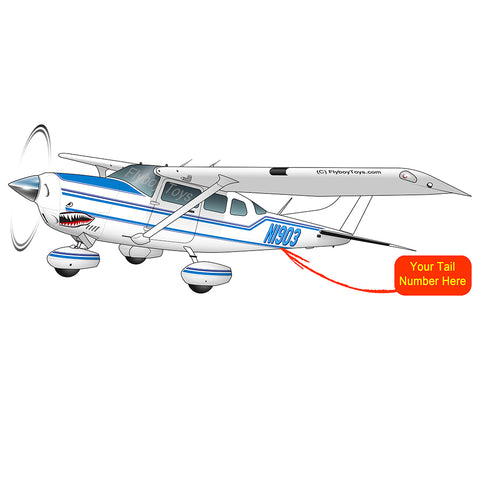Airplane Design (Sky Blue) - AIR35JJ206-SB1