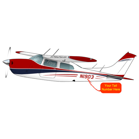 Airplane Design (Red/Blue) - AIR35JJ21035EKLI9FE-RB1