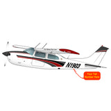 Airplane Design (Red/Black) - AIR35JJ210K-RB1