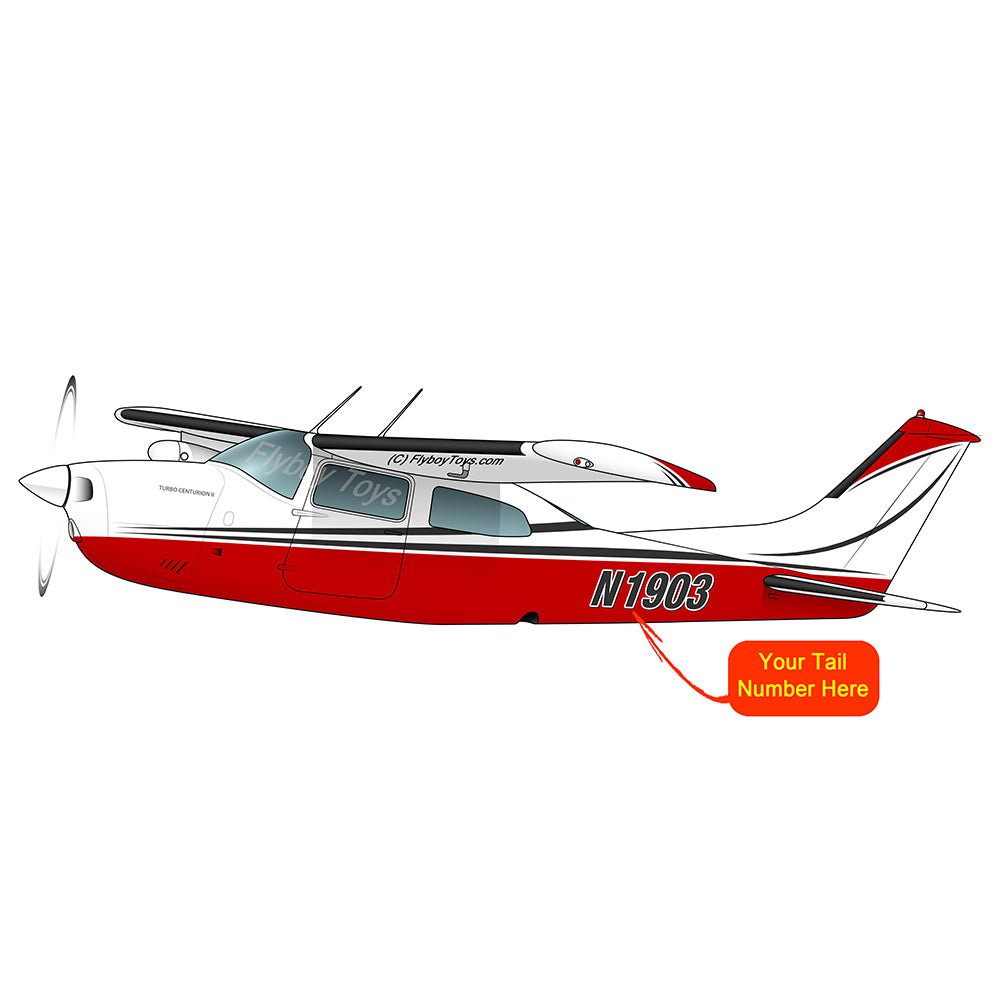 Airplane Design (Red/Silver) - AIR35JJ210K-RS1