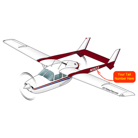 Airplane Design (Red) - AIR35JJ337G-R1