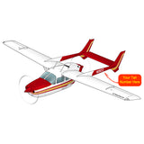 Airplane Design (Red/Yellow) - AIR35JJJBPD1JK5I-RY1