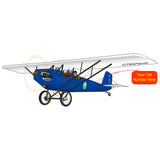Airplane Design (Blue #1) - AIR3FIG95-B1